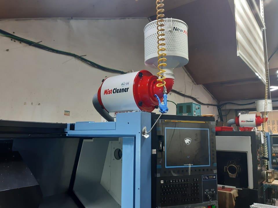 미스트크리너 YMC-350 1마력 집진기 설치 현장